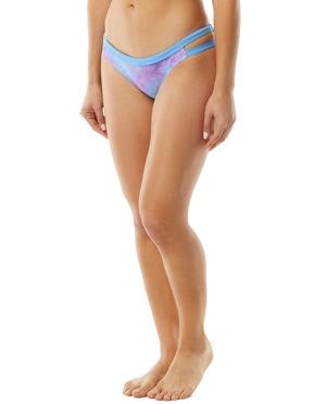 TYR Women's Acid Wash Cove Bikini Bottom Swimsuit