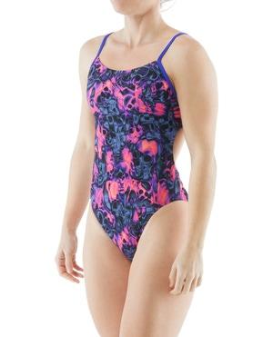 TYR Women's Spirit Fire Cutoutfit Swimsuit