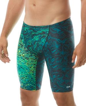 TYR Men's Chroma Jammer Swimsuit