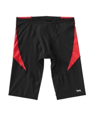 TYR Boys' Hexa Curve Splice Jammer Swimsuit