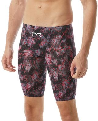 TYR Men's Avictor Supernova High Jammer Swimsuit
