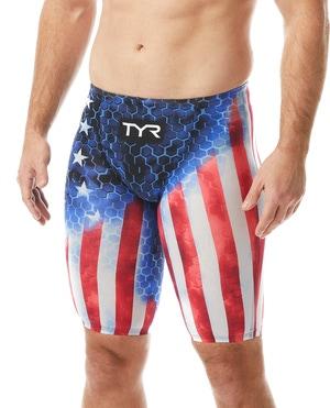 TYR Men's Avictor® Supernova USA High Jammer