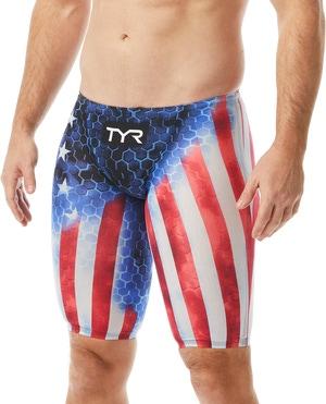 TYR Men's Avictor® Supernova USA Jammer