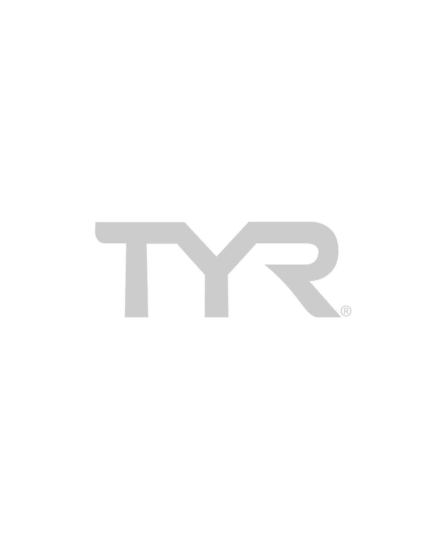 TYR Women's Solid Pacific Tieback Top-BLACK/PINK