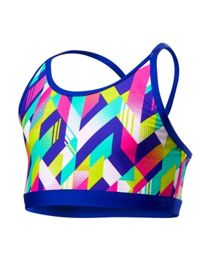 TYR Girls' Paint Party Trinity Top
