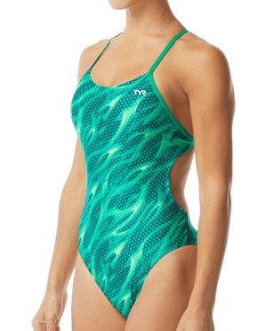 TYR Women's Reaper Cutoutfit Swimsuit