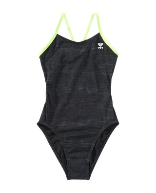 TYR Girl's Sandblasted Cutoutfit Swimsuit