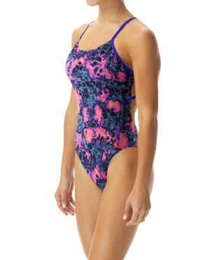 TYR Women's Spirit Fire Tetrafit Swimsuit