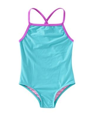 TYR Girls' Solid Diamondfit Swimsuit