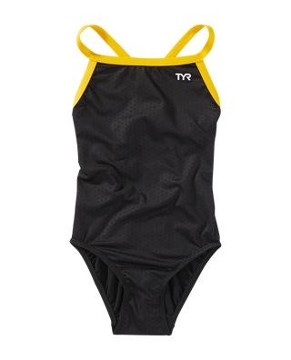 TYR Girls' Hexa Diamondfit Swimsuit