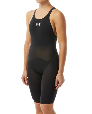 Tyr Women's Invictus Solid Open Back Swimsuit