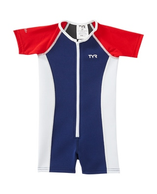 TYR Boys' Solid Thermal Suit