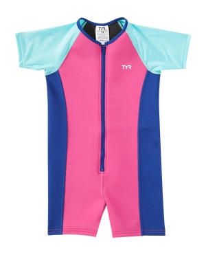 TYR Girls' Solid Thermal Suit