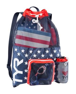 40L Big Mesh Mummy Backpack