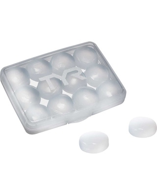 TYR Soft Silicone Ear Plugs - 12 Pack