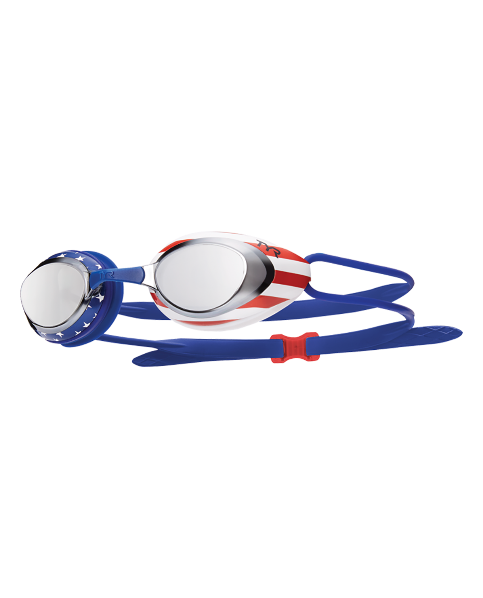 Blue Tyr Black Hawk Racing Mirror Swimming Goggles
