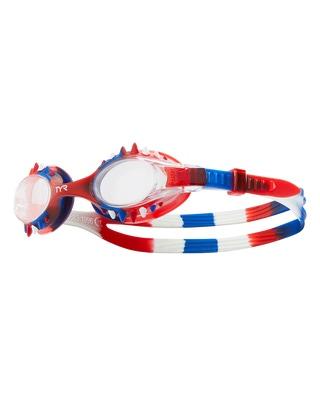 TYR Swimple Spikes Tie Dye Kids' Goggle