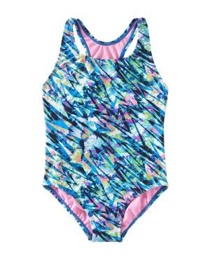 TYR Girls' Bolt Ella Maxfit Swimsuit