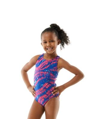 TYRxSimone Girls' Ablaze Maxfit Swimsuit