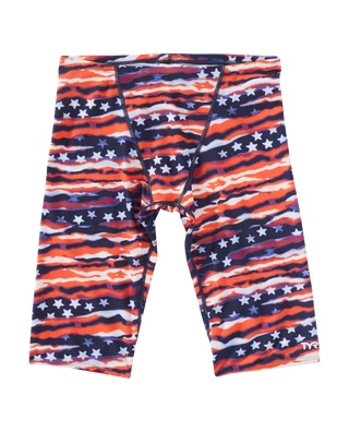 TYR Boys' All American All Over Jammer Swimsuit