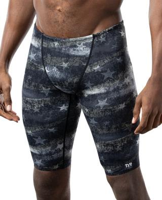 TYR Men's American Dream All Over Jammer Swimsuit