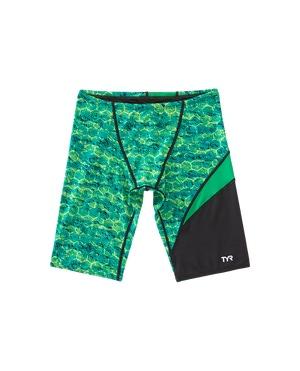 TYR Boys' Agran Wave Jammer Swimsuit