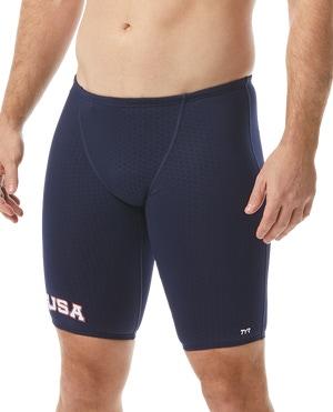 TYR Men's Hexa USA Jammer Swimsuit