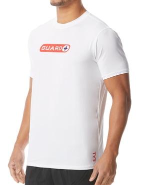 TYR Guard Men's Short Sleeve Rashguard