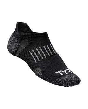 TYR No Show Tab Thin Training Socks