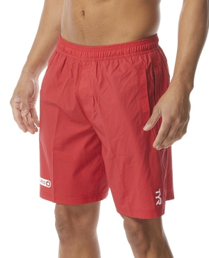 TYR Guard Men's Solid Lake Front Land to Water Short