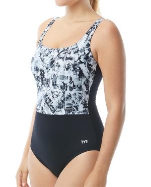 TYR Women's Makai Scoop Neck Controlfit Swimsuit