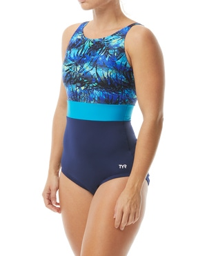 TYR Women's Cabo Belted Controlfit Swimsuit