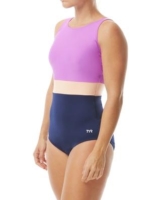 TYR Women's Splice Belted Controlfit Swimsuit