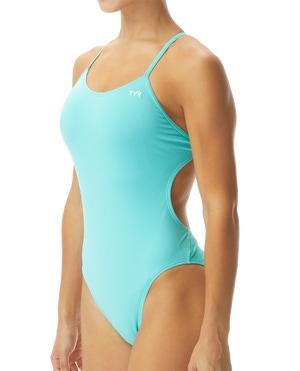 Women's Durafast One Solids Cutoutfit Swimsuit