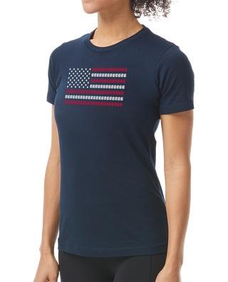 TYR Women's USA Lanes Graphic Tee
