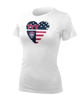 Women's USA Water Polo Tee