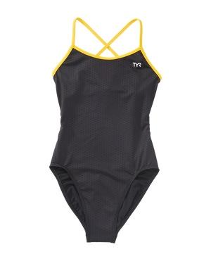 TYR Girls' Hexa Trinityfit Swimsuit
