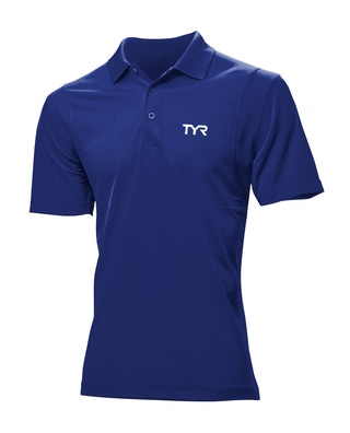 TYR Men's Big & Tall Alliance Tech Polo