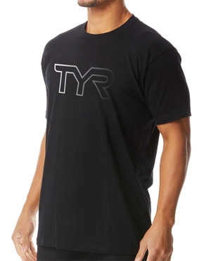 TYR Men's Reflective Graphic Tee