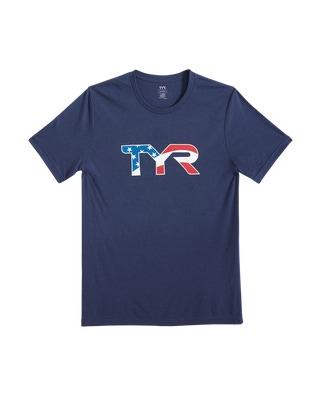 """TYR Men's """"Lochte"""" Graphic Tee"""