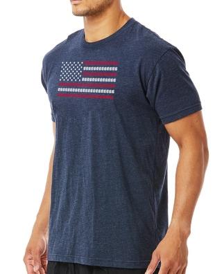 TYR Men's USA Lanes Graphic Tee