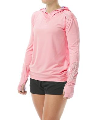 TYR Women's SunDefense Hooded Shirt
