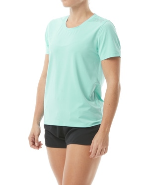 TYR Women's SunDefense Short Sleeve Shirt