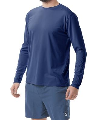 TYR Men's SunDefense Long Sleeve Shirt
