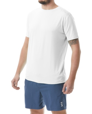 TYR Men's SunDefense Short Sleeve Shirt