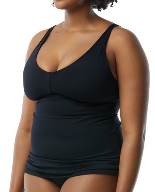 TYR Women's Solid V-Neck Sheath Plus - Fitness Gifts For Women