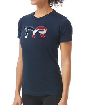 TYR Women's USA Graphic Tee