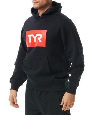 TYR Men's Unisex Block Pullover Hoodie
