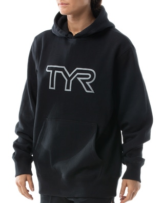 TYR Women's Unisex Reflective Pullover Hoodie