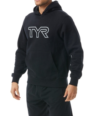 TYR Men's Unisex Reflective Pullover Hoodie